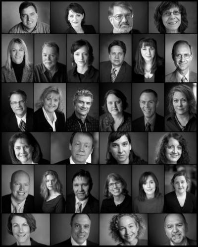 Portrettbilder av ansatte til websider og intranett